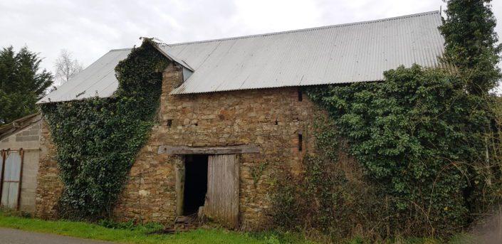 Rénovation d'une remise en pierre, tôle ondulée à Héric (44)