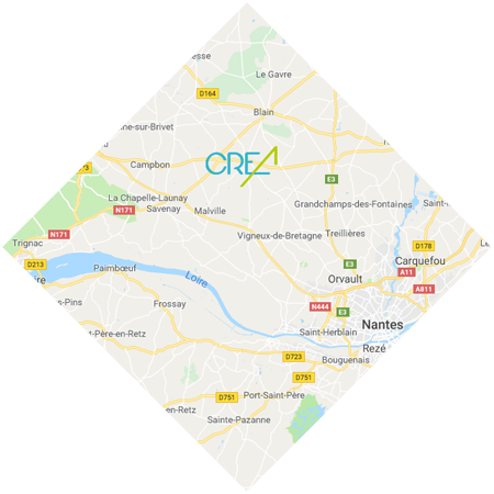 Plan Carte Google Maps - CREA Construction